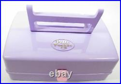 1989 Vintage Polly Pocket RARE Jewel Case with Dolls & Accessories COMPLETE