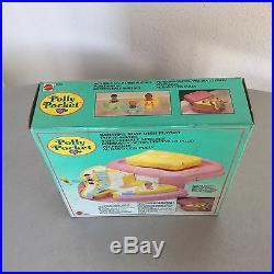 1990#VINTAGE Polly Pocket Bathtime Soap Dish Playset Rare Pink Varation#NIB