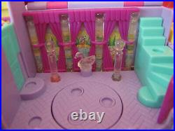 1994 Bluebird Polly Pocket Light Up Magical Mansion Playset Complete