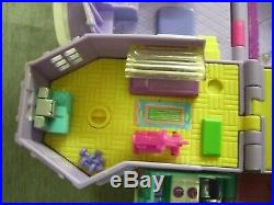 1994 Bluebird Polly Pocket Magical Mansion COMPLETE Play Set Vintage