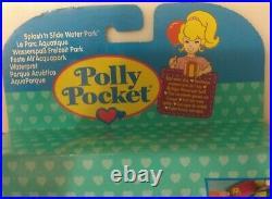 1995 MATTEL Polly Pocket Splash N' Slide Water Park SEALED MIB C-9 MINT