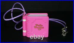 1995 Polly Pocket Bluebird Glitter Wedding Locket Missing Skirt Disc