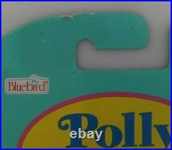 1996 BLUEBIRD POLLY POCKET Crystal Heart Pendant MOC MINT C-9 ULTRA RARE GRAIL