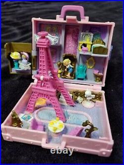 1996 Polly Pocket Bluebird Polly In Paris Complete All Original