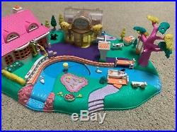 1996 Polly Pocket Vintage Lot Magical Movin' Pollyville Magnetic Bluebird