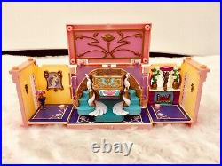 1999 Vintage Polly Pocket Dream Builders Deluxe Mansion Bluebird Toys