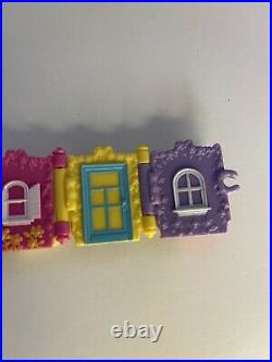 Bluebird Complete 1997 Polly Pocket Royal Bracelet Princess Treasures RARE