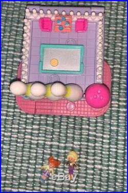 Bluebird Polly Pocket 1996 Bowling Alley Vintage Ultra Rare Pollyville COMPLETE