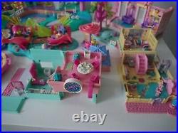 Bluebird Polly Pocket Vintage Bundle Rare Playsets 80's/90's