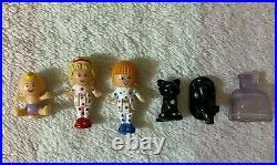 Bluebird Vintage Polly Pocket 1990 Pyjama Party Dressing Table Mirror Dolls Pets