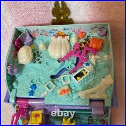 Bluebird Vintage Polly Pocket 1995 Sparkling Mermaid Adventure Storybook Playset