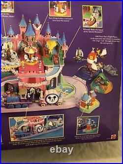 Brand New Disney Magic Kingdom Castle Miniatures Polly Pocket Playset Mattel