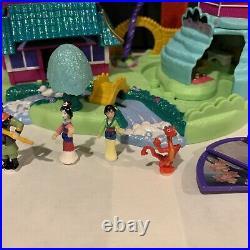 Disney 1997 Polly Pocket Mulan's Brave Journey Pagoda Playset