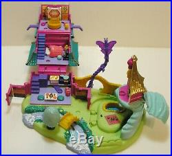 Disney 1997 Polly Pocket Mulan's Brave Journey Pagoda Playset 100% COMPLETE VGC