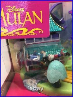 Disney 1997 Polly Pocket Mulan's Brave Journey Pagoda Playset NIB VERY RARE