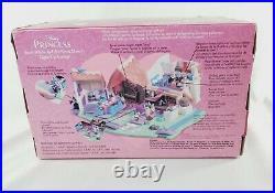Disney 2001 Polly Pocket Snow White & The Seven Dwarfs Light up Cottage SEALED
