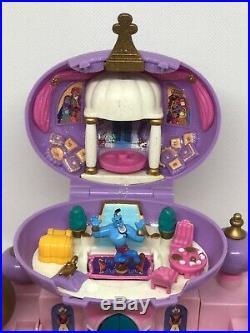 Disney Polly Pocket Aladdin Jasmines Royal Palace RARE PURPLE VARIATION
