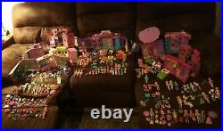 Fashion Polly Pocket Super Stylin Bedroom Dolls Pets Clothing Accessories lot