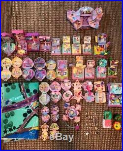 HUGE Vintage Lot of 31 BLUEBIRD Polly Pocket Compacts People Mat ++ More Lot 1