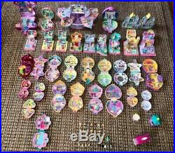 HUGE Vintage Lot of 33 BLUEBIRD Polly Pocket Houses & Compacts 1980-1990 LOT 2