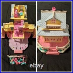 Huge Lot of Vintage Polly Pockets & Figurines 90s Retro Excellent Used Condition