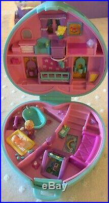Large Vintage Polly Pocket Compact Lot With Accessories