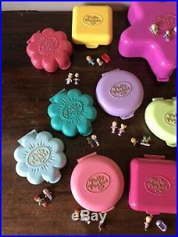 Large Vintage Polly Pocket Compacts Bundle & Fairylight Wonderland