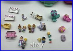 Lot Of 13 Vintage 1989/1990 Polly Pocket Compact Playsets Bluebird