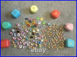 MASSIVE Amount Of Vintage Polly Pocket Rings, Accessories, Figures VGC 135 Items