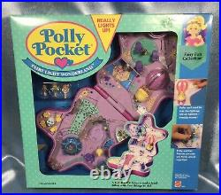 NIB 1993 Mattel Polly Pocket Fairy Light Wonderland Playset Lights Up