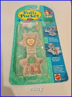 NIB Vintage Polly Pocket BlueBird 1993 Fairy Spells Locket Necklace NEW COMPLETE