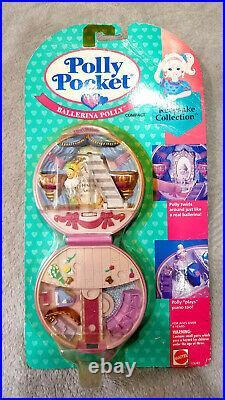 New Sealed Polly Pocket Ballerina Polly Keepsake Collection 1994 New Sealed