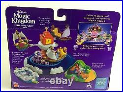 Peter Pan's Flight Magic Kingdom Polly Pocket Tinkerbell Sealed Disney Vintage