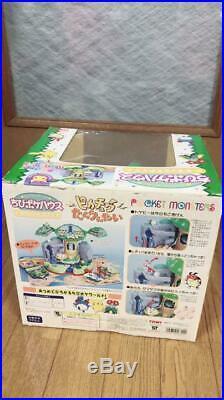 Pokemon Chibi Poke House Deluxe Rare anime mini Toy set Vintage Figures Pikachu