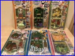 Pokemon Chibi Poke House Pocket Compact Rare anime mini Toy set Vintage Figures