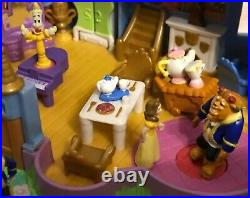 Polly Pocket Disney Beauty & The Beast Castle STUNNING CONDITION %