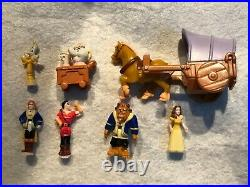Polly Pocket Disney Beauty & The Beast Castle STUNNING CONDITION % A