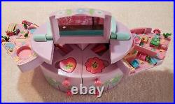 Polly Pocket PULL OUT PLAYHOUSE MAKE UP set COMPLETE RARE! 1991