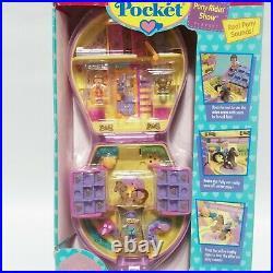 Polly Pocket Pony Ridin' Show Compact New Sealed Vintage 1995 Pony Parade 14539
