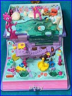 Polly Pocket Sparkling Mermaid Adventure Book COMPLETE! Bluebird Vintage