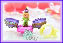 Polly Pocket Vtg 1994 Crown Surprise Ring Doll Jewelry COMPLETE Bluebird