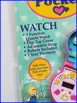 Polly pocket pink watch NEW hope industries vintage