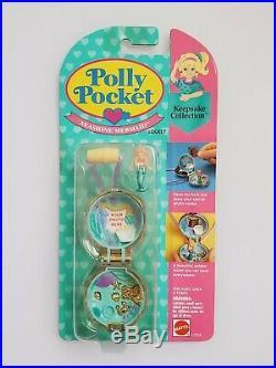 Seashine Mermaid Locket NEW polly pocket vintage