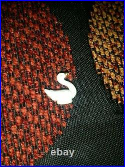 Super Rare! Tiny Swan from Starlight Castle Set. Vintage Polly Pocket 1992