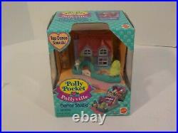 T Vintage Polly Pockets Mattel 1994 DANCE STUDIO Playset New Sealed MISB