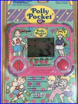 Tiger electronic LCD Game NEW Dead Stock Polly pocket Vintage Hand Held