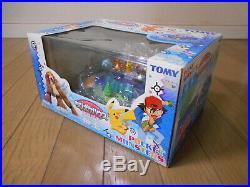 Tomy Entei Pokemon Chibi Poke House Figure Compact World Playset Pikachu Vintage