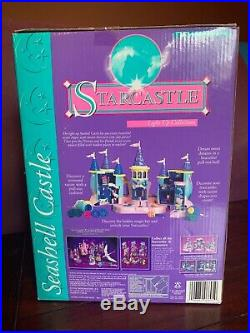 Trendmaster Starcastle, Light Up Collection, Seashell Castle, RARE, NIB