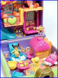 ULTRA RARE Polly Pocket Polly's Toy Land 1996 w ORIGINAL DOLLS Bluebird Vintage