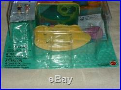 Vhtf Vintage 1997 Mattel Polly Pocket Dolphin Fun Island Set New Moc Rare